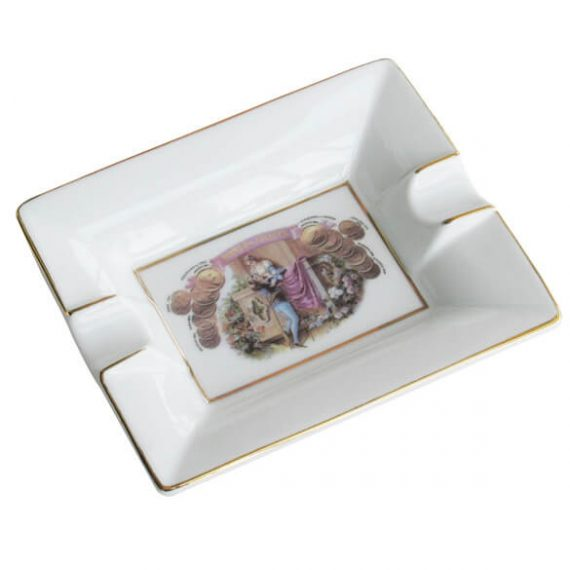 Romeo y Julieta Cigar Ceramic Ashtray