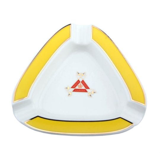Montecristo Triangle Ceramic Cigar Ashtray CA-003
