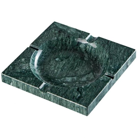 Green Square Marble Stone Cigar Ashtray CA-066