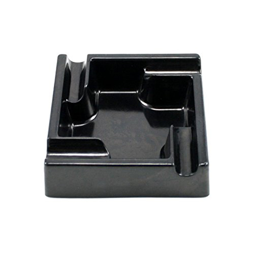 Melamine Black Square Ashtray CA-074