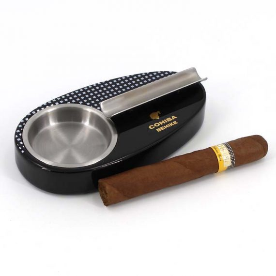 Cohiba Behike Wood Cigar Ashtray