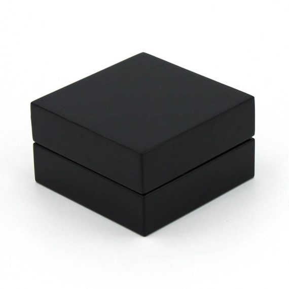 Polished Black Travel Cigar Ashtray Kit
