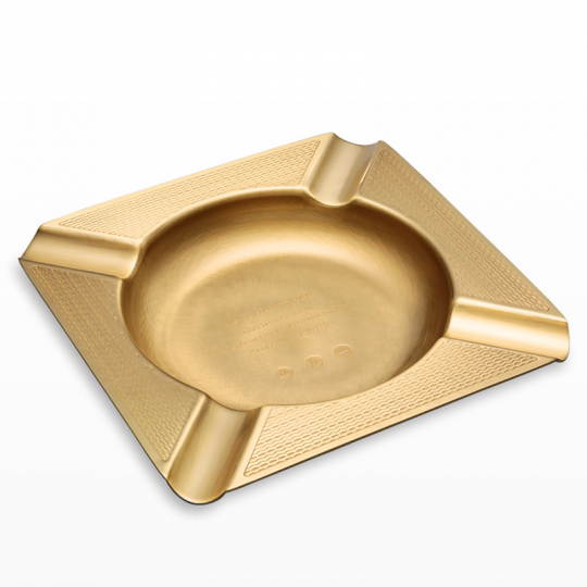 Brass Square Metal Cigar Ashtray CA-041