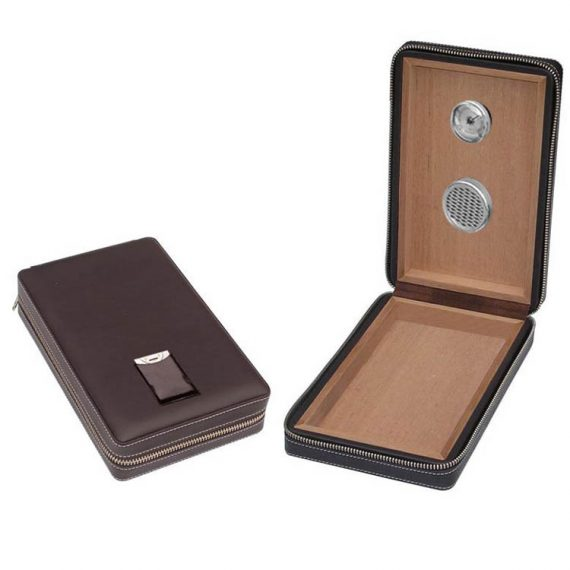 Leather Travel Humidor CH-0272