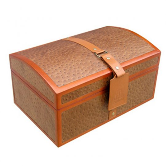 Large Cigar Leather Humidor Case CH-0359B