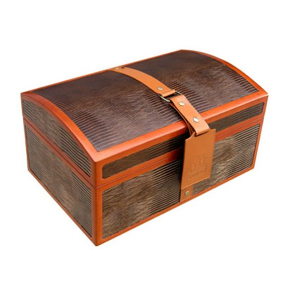 Large Cigar Leather Humidor Case CH-0359