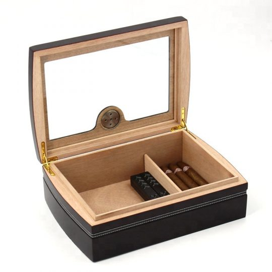 Medium Glass Top Humidor CH-0545