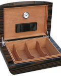 Ebony Lacquer Finish Cigar Humidor CH-0645