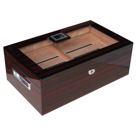 Large Glass Top Cigar Humidor CH-0724