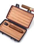 Plastic Cigar Travel Case CH-095