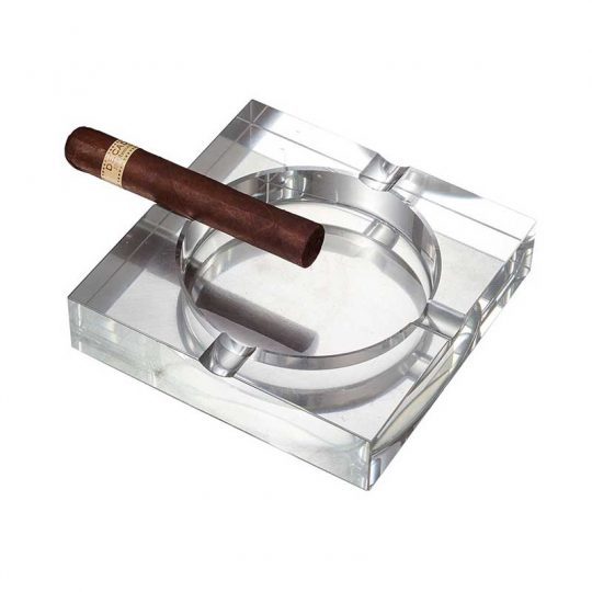 Crystal Four Lip Cigar Ashtray CA-055