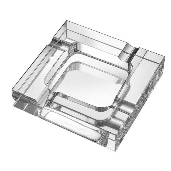 Square Crystal Cigar Ashtray CA-056