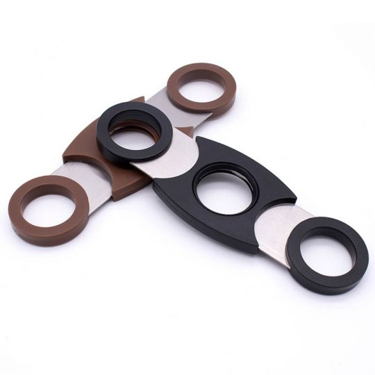 Plastic Double Guillotine Cigar Cutter CC-1026