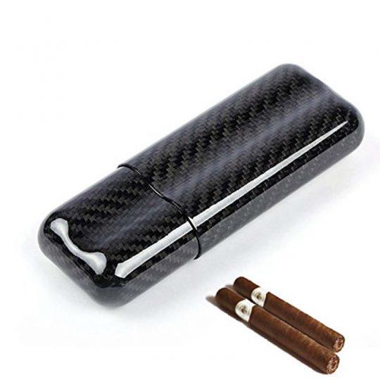 Carbon Fiber Cigar Case CC-8028