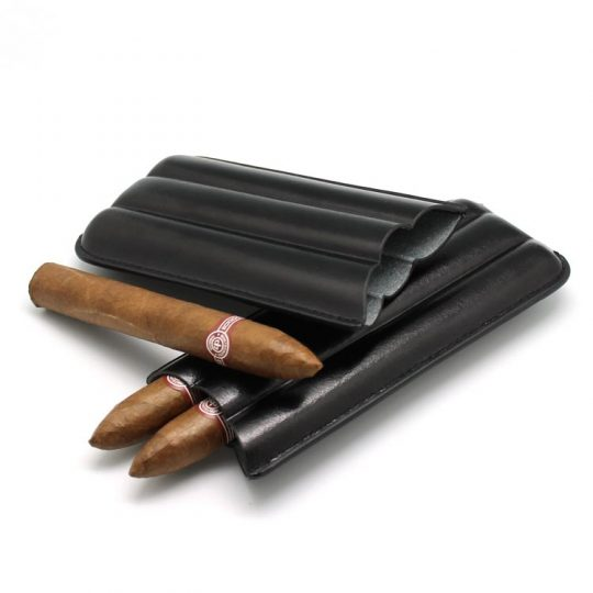 3 Finger Cigar Leather Case CC-8030
