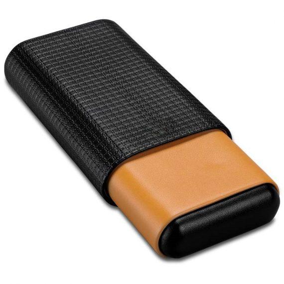 Cohiba Cedar Wood Cigar Leather Case CC-8034
