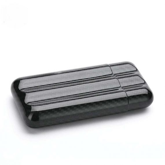 3ct Carbon Fiber Cigar Case CC-8039