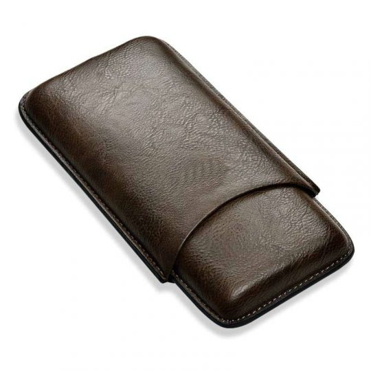 3ct Cohiba Black Leather Cigar Case CC-8043