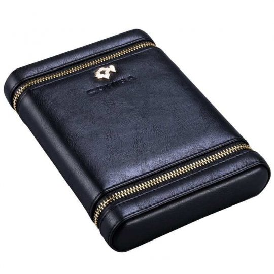 Cohiba Zipper Leather Travel Cigar Case CC-8058