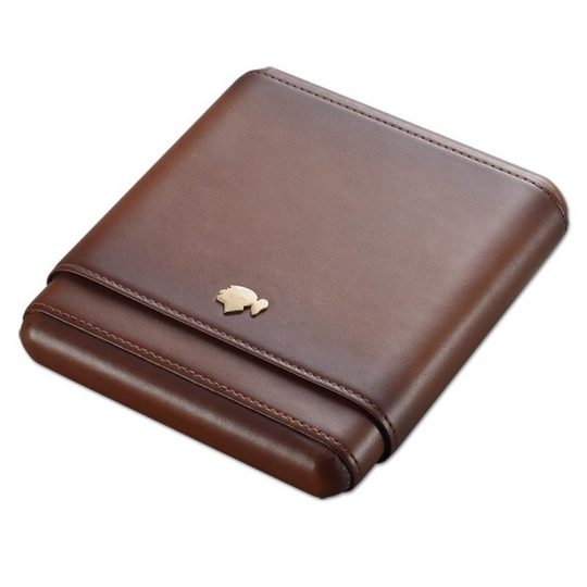 6ct Cohiba Travel Cigar Leather Case CC-8077