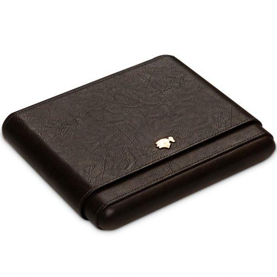 8ct Cohiba Travel Cigar Leather Case CC-8084