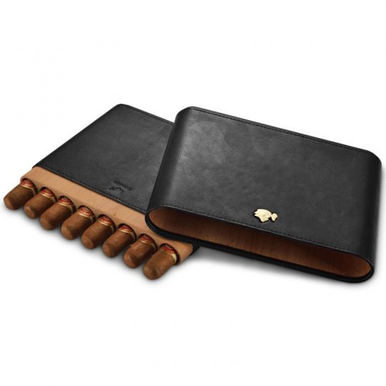 8ct Cohiba Travel Cigar Leather Case CC-8084