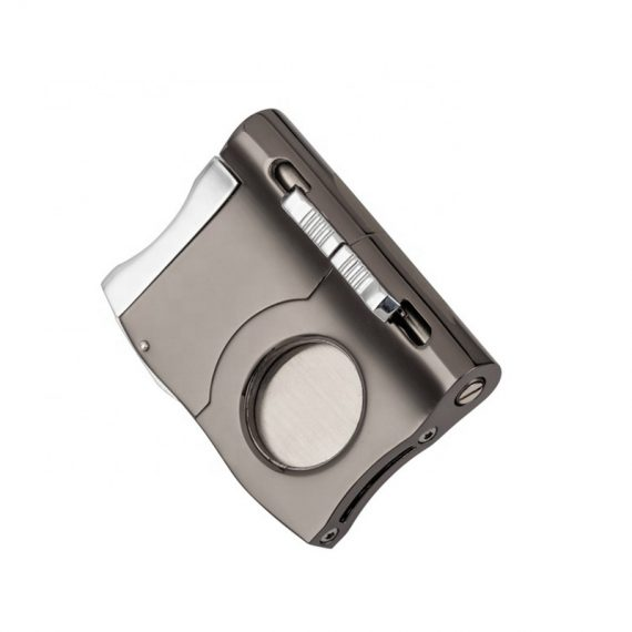 Cigar Cutter Guillotine with Built-in Punch CC-3029