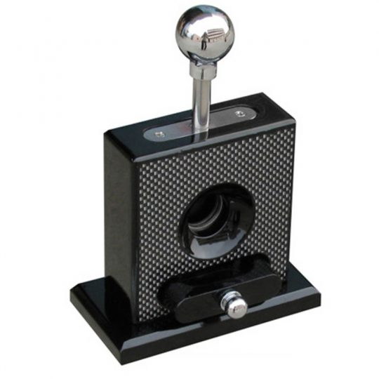Glossy Wood Table-top Cigar Cutter CC-4004