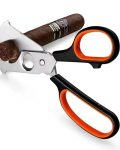 2 in 1 Stainless Steel Cigar Scissors CC-6013