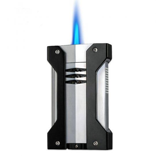 Black Wind Resistant Cigar Lighter CL-040