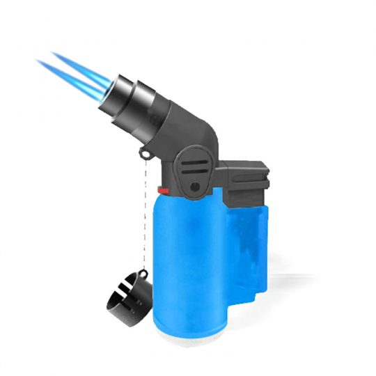 Dual Flame Angle Jet Torch Lighter CL-17