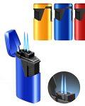Dual Flame Jet Flame Cigar Lighter CL-9