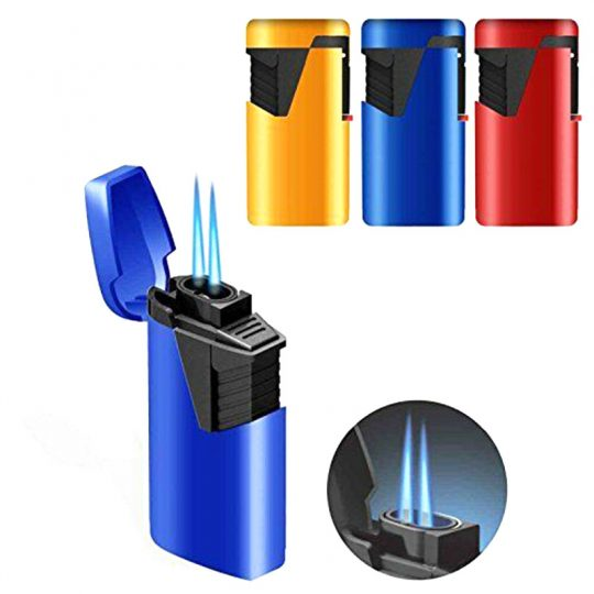 Dual Flame Jet Flame Cigar Lighter CL-9
