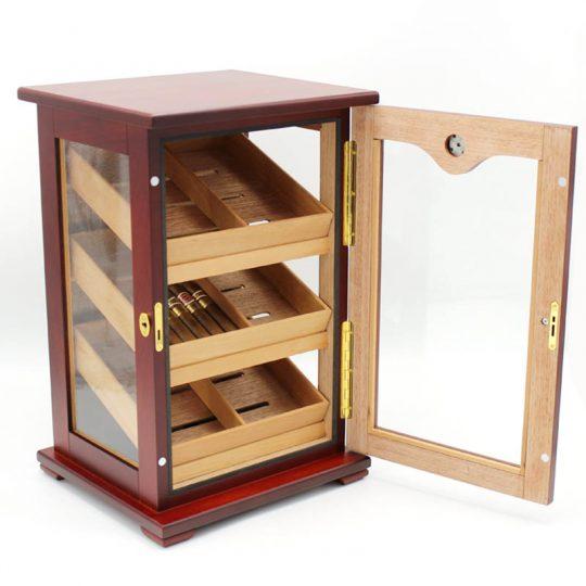Countertop Display Humidor Cigar Storage Cabinet CH-0108