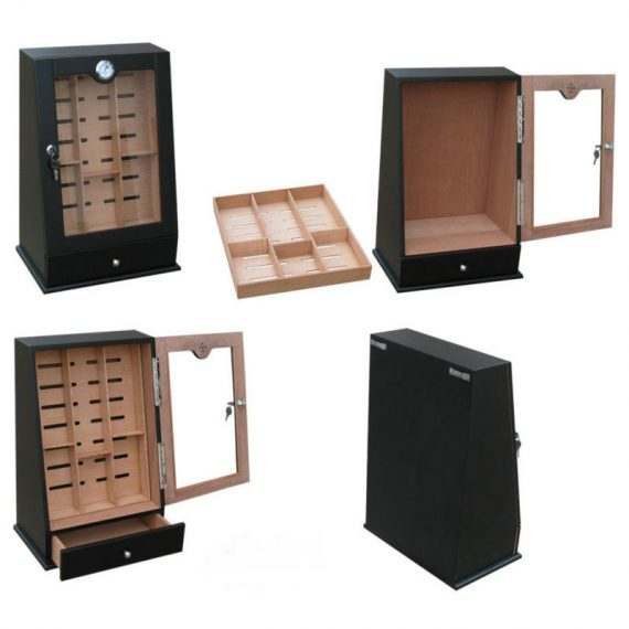 Commercial Desktop Display Humidor CH-0836