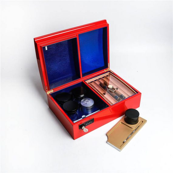 Luxury Cannabis Humidor Case CH-1349