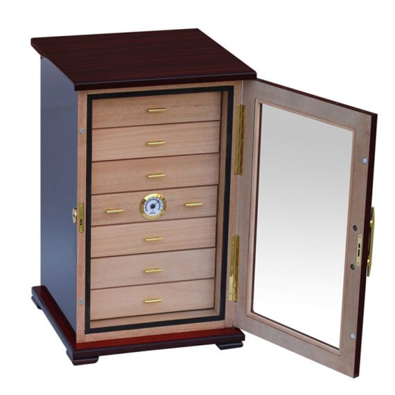 7 Drawer 150 Cigar Humidor Cabinet CH-2007