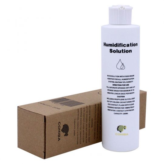 Cigar Humidor Solution for Humidification