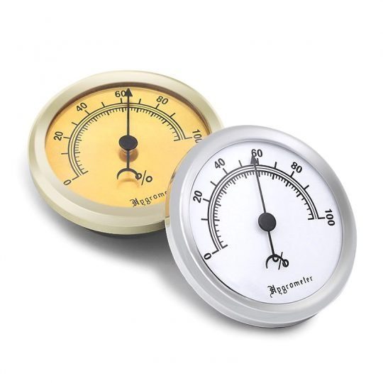 Round Analog Hygrometer for Cigar Humidor CH-85