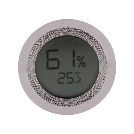 Round Digital Hygrometer for Humidors CH-88