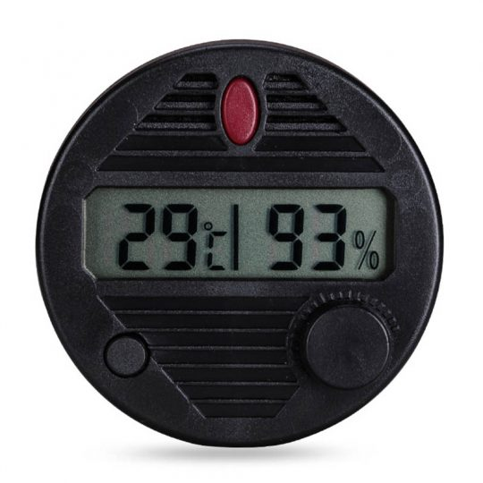 Round Digital Hygrometer for Humidors CH-93