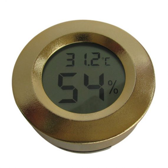 Round Digital Cigar Hygrometer CH-98