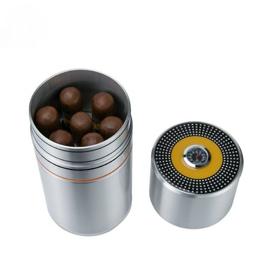 7 Cigar Travel Case Desk Humidor CT-1071