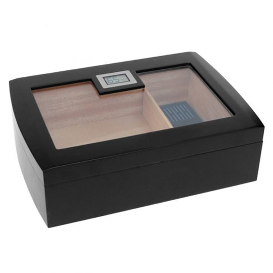 Medium Glass Top Humidor CH-0545B
