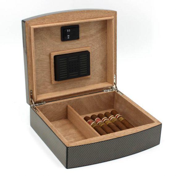 Carbon Fiber Cigar Humidor CH-0571