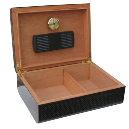 Medium Carbon Fiber Humidor CH-0819