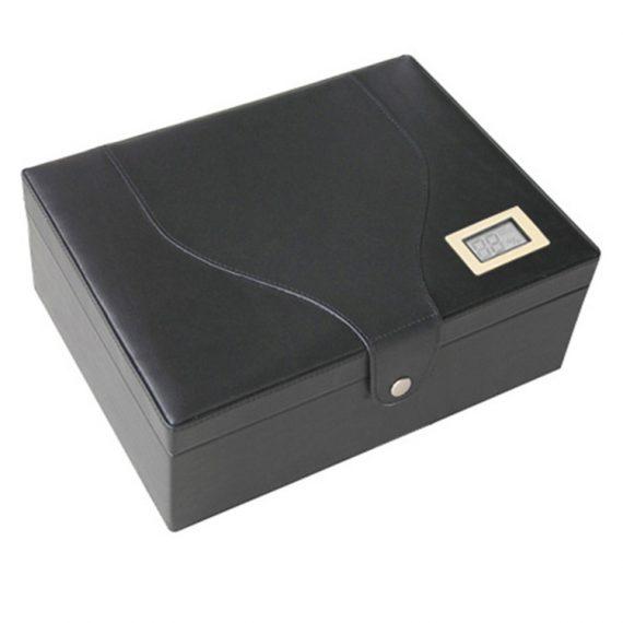 Medium Leather Humidor CH-1037