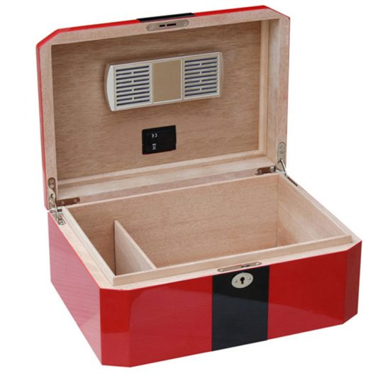 Medium Red Cigar Humidor CH-1045B