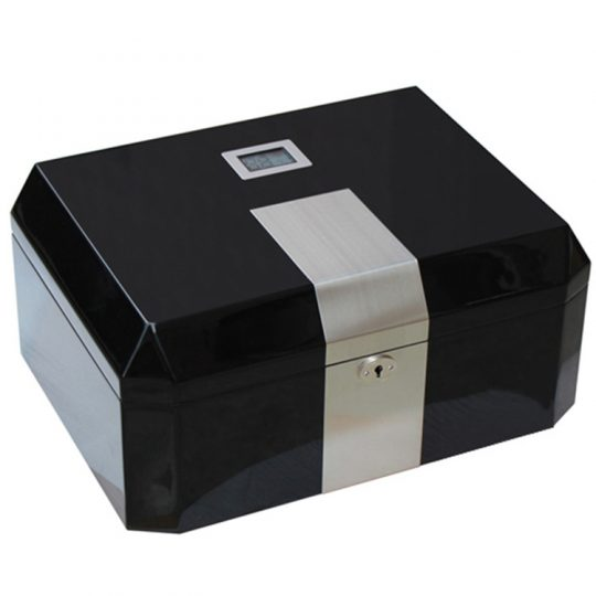 Medium Glossy Cigar Humidor CH-1048B