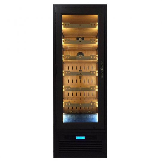 Custom Built-in Electric Humidor Cabinet CH-1250B_1